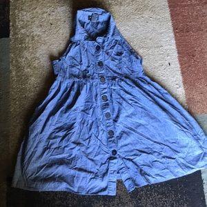 Girls Alyn Paige Jean dress with pockets size 9/10